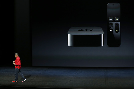 Презентация компании Apple: Обновленная ТВ приставка Apple TV