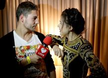 Ведущие Love Radio - Владимир Калякин и Лена Темникова