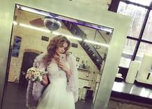 Свадебное платье Алены Водонаевой?