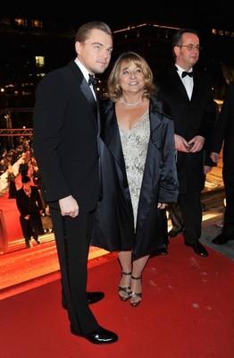 Леонардо Ди Каприо со своей мамой