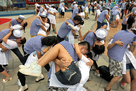 Флэшмоб в Шанхае