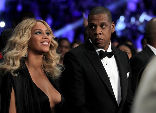 Певица Бейонсе c Jay-Z