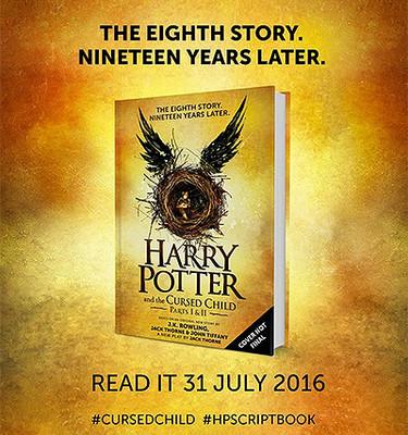 Обложка книги «Гарри Поттер и проклятое дитя»