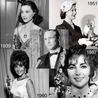 Оскар в разные года