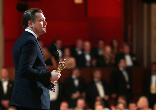 Леонардо ДиКаприо на премии Оскар