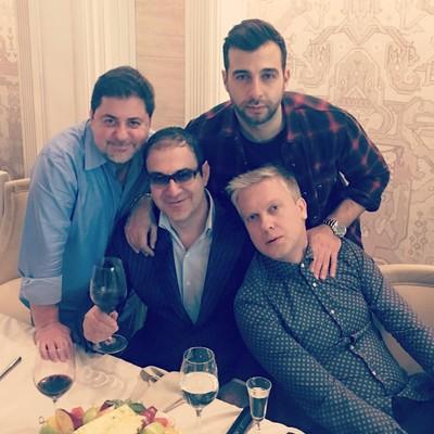 Иван Ургант, Гарик Мартиросян, Сергей Светлаков и Александр Цекало