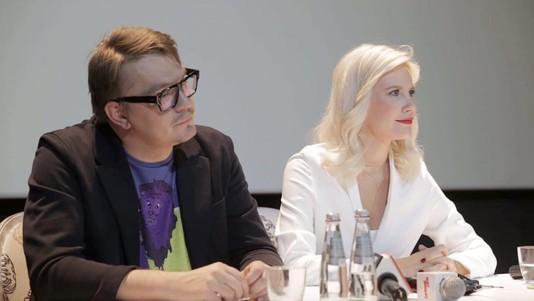 Елена Летучая и Николай Картозия