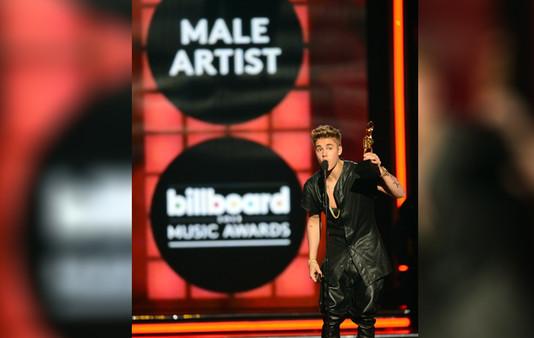 Джастин Бибер на Billboard Music Awards - 2015