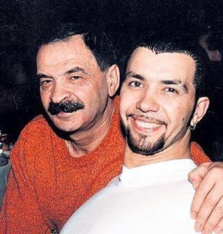 Денис Клявер с отцом