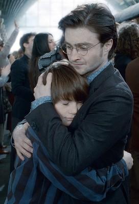Гарри Поттер с сыном