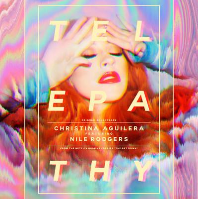 Обложка сингла Кристины Агилеры - Telepathy
