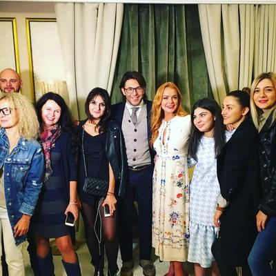 Андрей Малахов, Линдси Лохан и съемочная группа