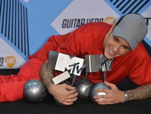 Джастин Бибер на MTV EMA