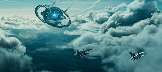 Кадр из фильма «Притяжение».