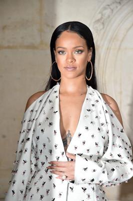 Рианна на Неделе моды в Париже