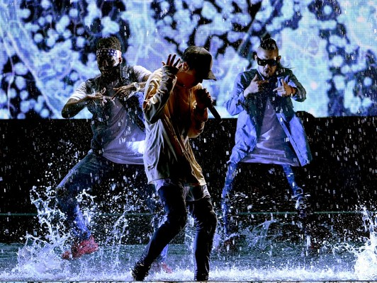 Джастин Бибер на MTV AMA 2015