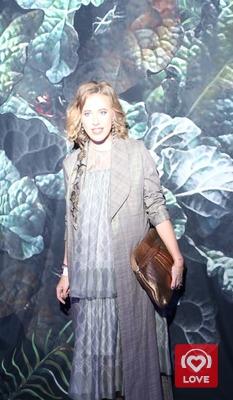Ксения Собчак на Mercedes-Benz Fashion Week Russia