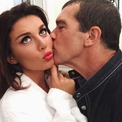Анна Седокова и Антонио Бандерас