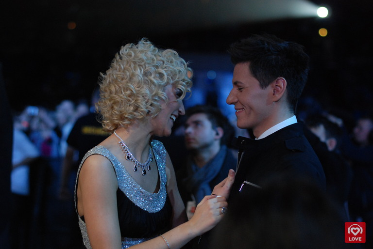 Максим Привалов и Ольга Бузова