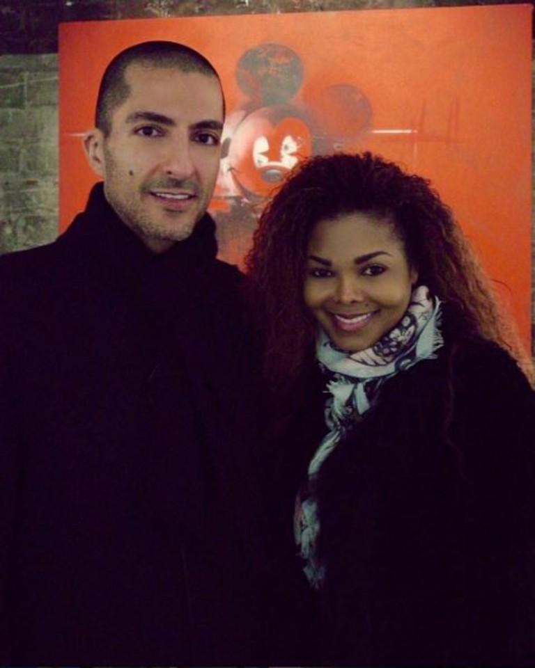Джанет Джексон и ее муж Виссам Аль Мана