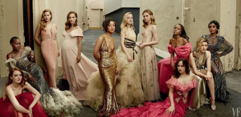 Полная обложка Vanity Fair