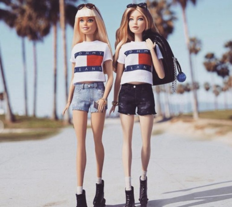 Создана кукла Барби Хадид