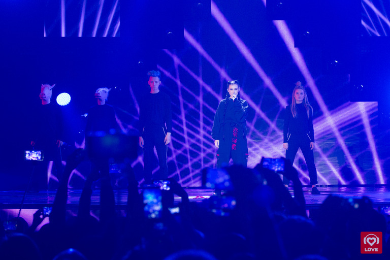 Лена Темникова на Big Love Show 2017