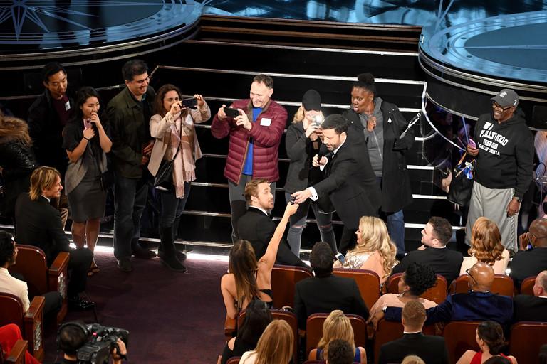 Туристы попали на премию «Оскар-2017»