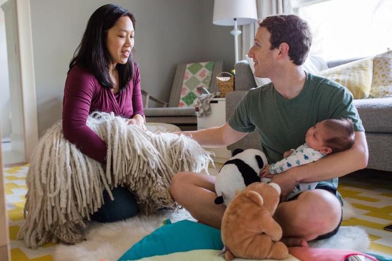 Присцилла чан с ребенком фото