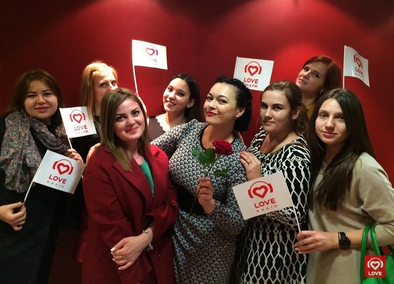 Ольга Мажара и гости спецпоказа Love Radio