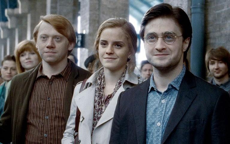 Кадры из фильма о Гарри Поттере