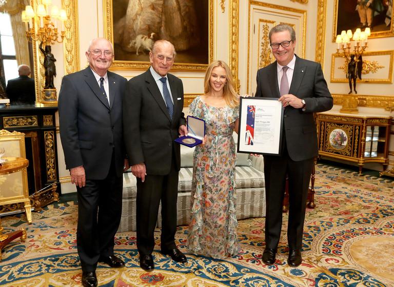 Награждение премии Britain-Australia Society
