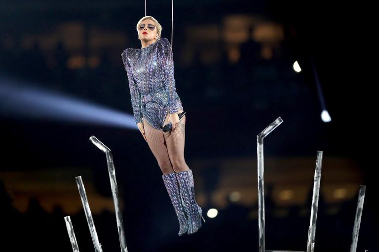 Леди Гага на Суперкубке