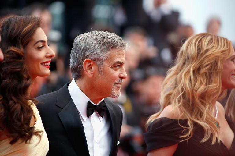 Амаль и Джордж Клуни, Джулия Робертс