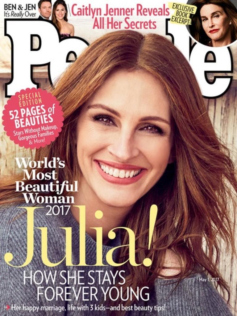 Джулия Робертс на обложке журнала People