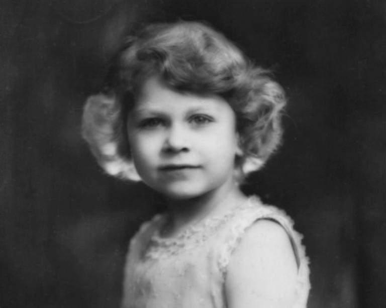 Будущая королева Елизавета II в возрасте 5 лет