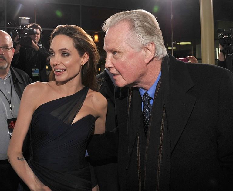 Анджелина Джоли и Джон Войт