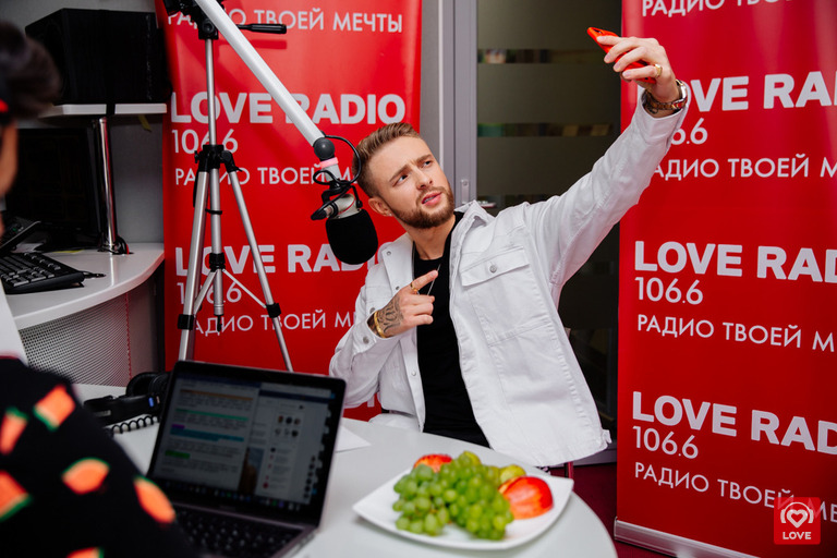 Егор Крид в гостях у Красавцев Love Radio