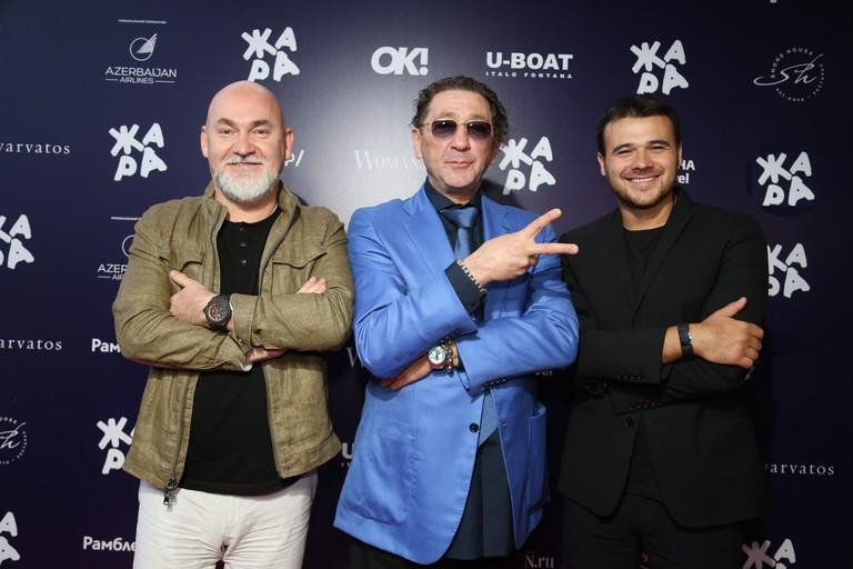 Сергей Кожевников, Григорий Лепс и Emin