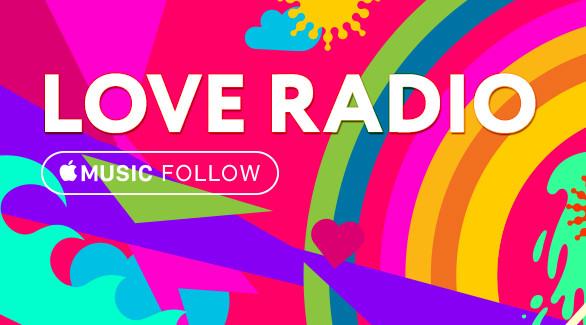 Love Radio — первая российская радиостанция, ставшая куратором Apple Music