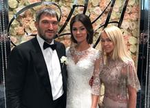 Александр Овечкин, Анастасия Шубская и Яна Рудковская