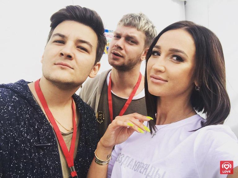 Красавцы Love Radio и Ольга Бузова