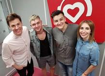 Максим Привалов, Денис Курочкин, Александр Соколов и Кристина Граник