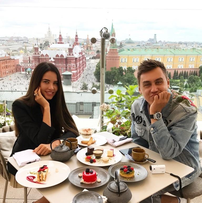 Анастасия Решетова и Дмитрий Портнягин
