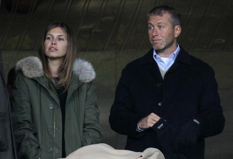 Дарья Жукова и Роман Абрамович