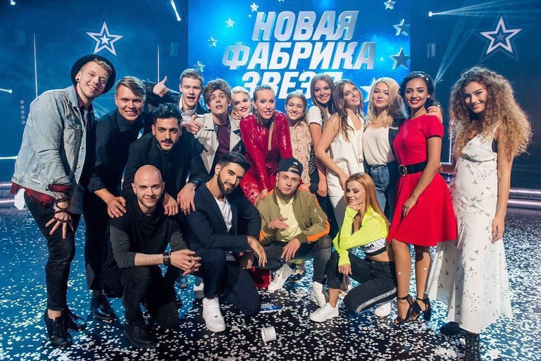 Участники «Новой Фабрики звезд» и Ксения Собчак
