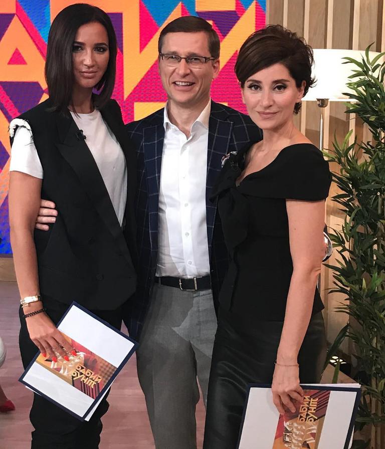 Ольга Бузова и Софико Шеварнадзе