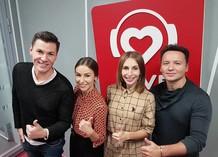 Максим Привалов, Кристина Кретова, Кристина Граник и Александр Олешко