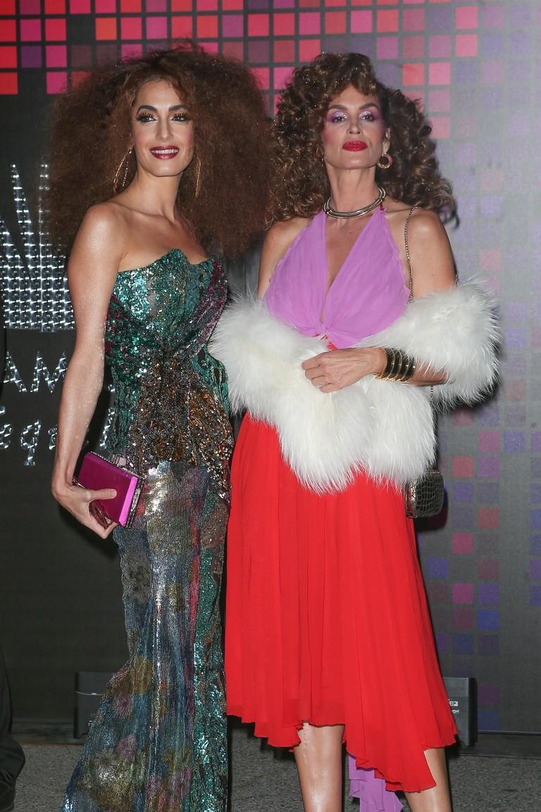 Амаль Клуни и Синди Кроуфорд