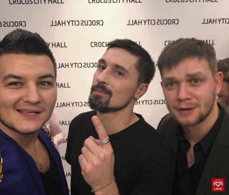 Красавцы Love Radio и Дима Билан
